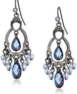 1928-Jewelry-Harvest-Blueberry-Hues-Chandelier-Earrings-0