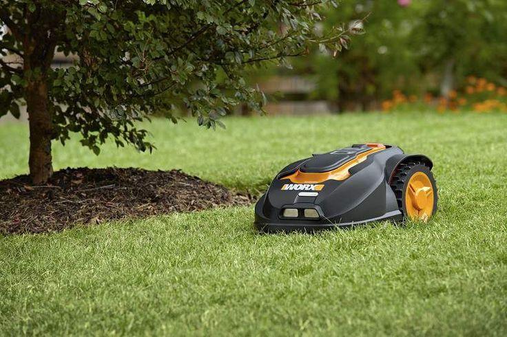 WORX Landroid Robotic Lawn Mower, 28-volt WG794 /////////////////////////// (gadgets, cool tech, home tech, outdoor fun, summer fun, summer activities, camping, smart home)