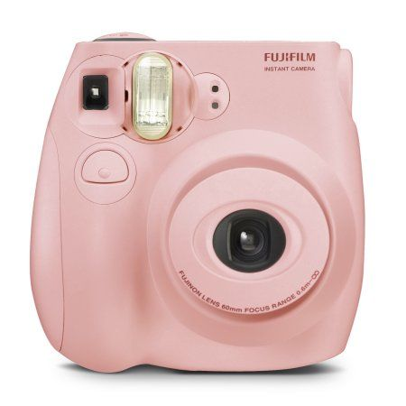 Best place and time to purchase is Black Friday because it comes with a purse.  Fujifilm Instax Mini 7S Blue Instant Camera (includes Fujifilm 10-pack film) - Walmart.com