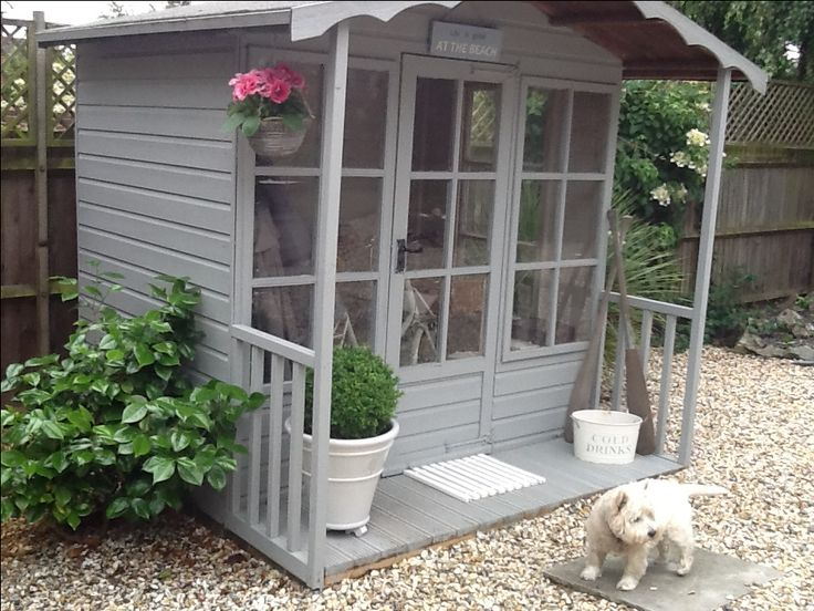 Summerhouse and a gorgeous little Westie!