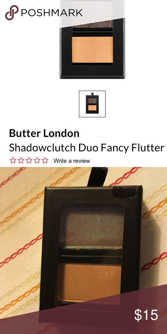 Butter London Fancy Flutter Eye Shadow New New Sealed Fancy Flutter ShadowClutch Wardrobe Duo. Our ShadowClutch duos are a great way to play with pops of colour, pick and choose your favorite shades to create your custom palette tailored to your ... Butter London Makeup Eyeshadow