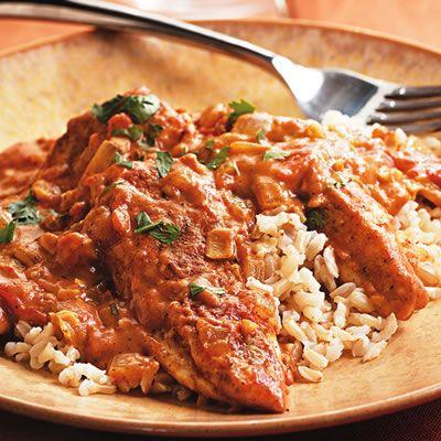 Quick Chicken Tikka Masala: Chicken Recipes, Dinners Recipes, Quick Chicken, Chicken Tikka Masala, Diet Recipes, Indian Food, Garam Masala, Healthy Recipes, Indian Dishes