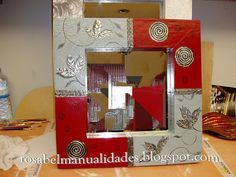 Rosabel manualidades: Marcos para espejos