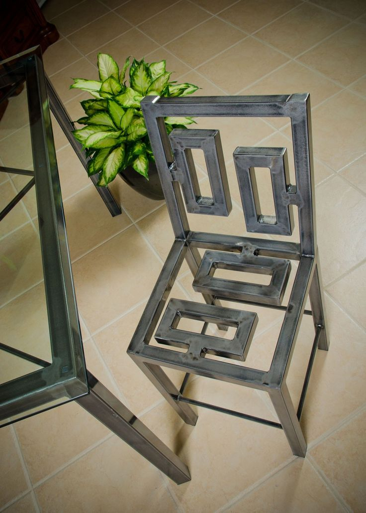 Architect Executive Chair Aged Copper by Boltz | Dining Chairs | Boltz Steel Furniture