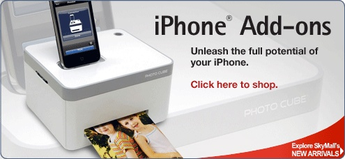 Get iPhone accessories at SkyMall.