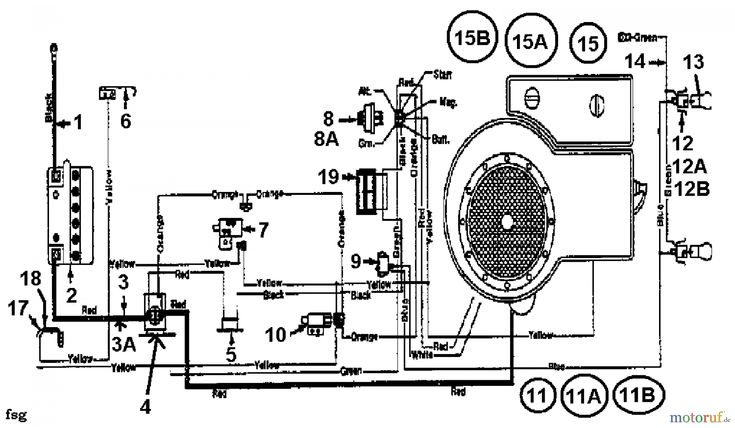 Wiring Diagram Mtd Lawn Tractor Wiring Diagram And By Mtd Lawn Tractors 12 91 132 450e653 1992