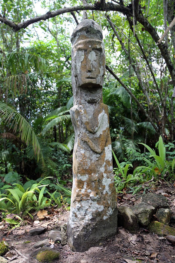 Megaliths stones are found all over Nias. Traditionally they were erected at new villages or at