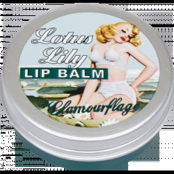 Glamourflage Lotus Lily Lip Balm  Tangerine flavour