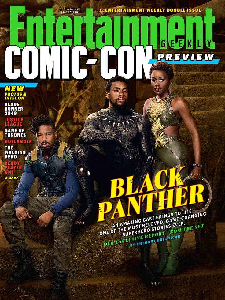 Your exclusive first look at 'Black Panther' has arrived!