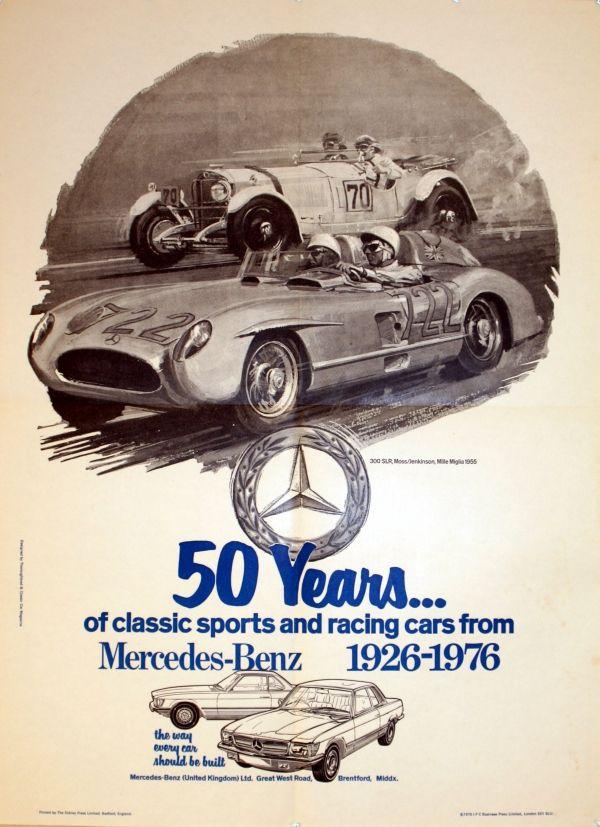 1000 images about mercedes benz vintage ads dossier on for Vintage mercedes benz posters