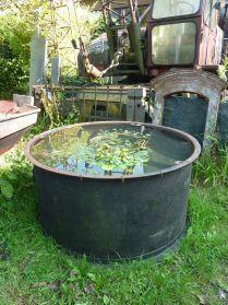 ijzeren watervat, te koop bij briekantiek.nl