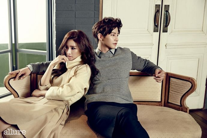 More Of Song Jae Rim & Kim So Eun For Allure Korea's December 2014 Issue | Couch Kimchi