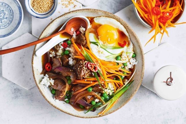 70 Cheap Family Meals Under 5 A Serve In 2021 Beef Donburi Recipe Teriyaki Beef Cheap Family Meals