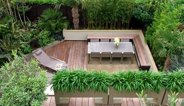 Jungle Backyard Ideas : Small jungle garden MyLandscapes LTD London, UK Garden Ideas, Garden