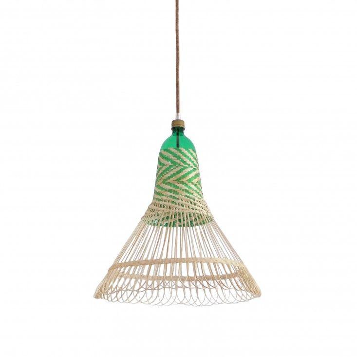 get your eco on....Chimbarongo PET lamp by Alvaro Catalan de Ocon | Remodelista