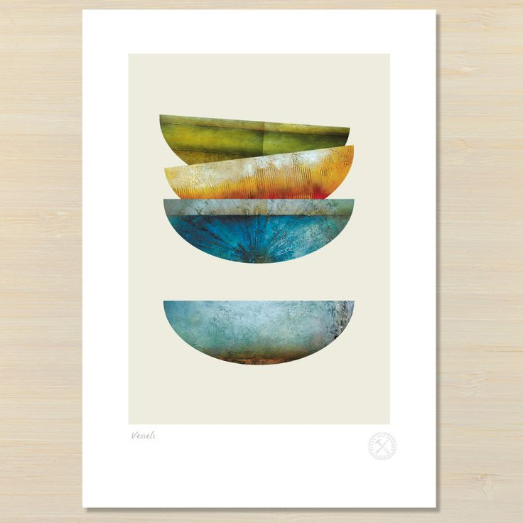 Vessels gallery quality giclee art print – Pencil and Hammer