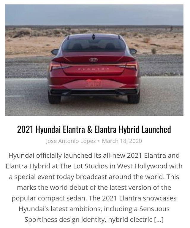 Bestoftheweek 2021 Hyundai Elantra Elantra Hybrid Launched See More At Thekcb Com F O L L O W Thekoreancarblog Thekcb Kia Hyundai Genesis G90 K900 Caden En 2020