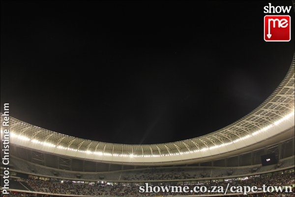 Bafana Bafana against Norway at the Cape Town Stadium