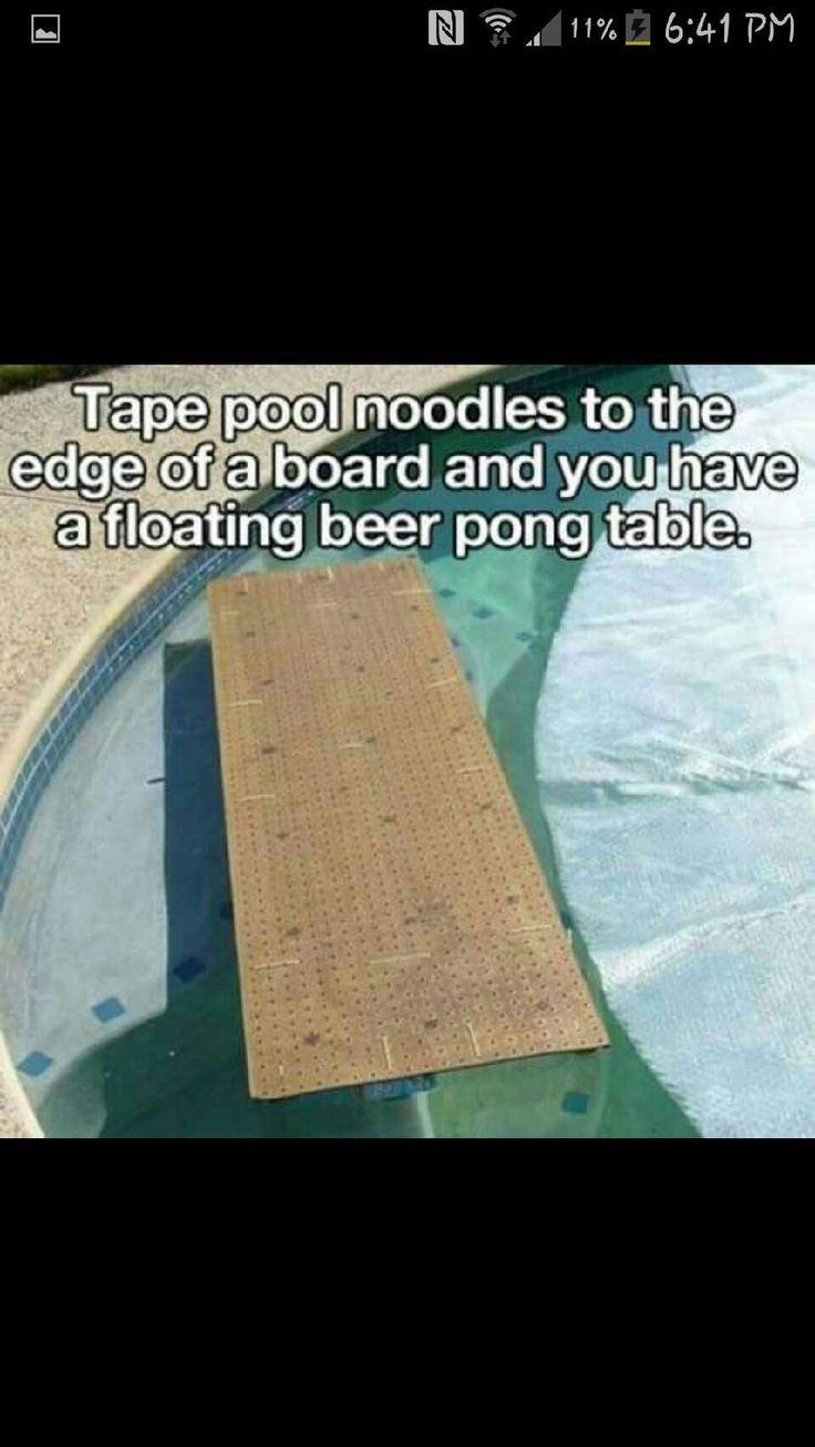 floating beer pong table!! #Entertainment #Trusper #Tip