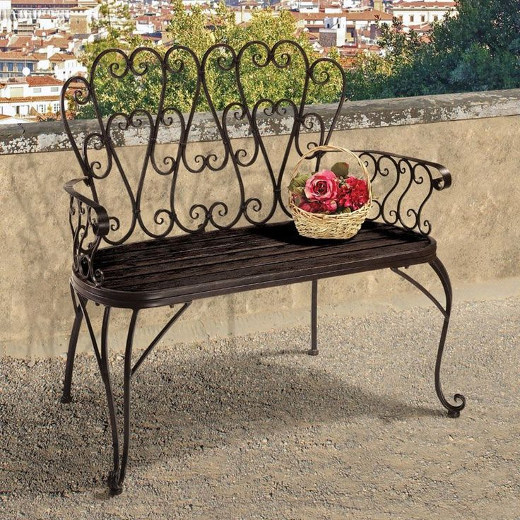 French+Garden+Design | Design Toscano French Quarter Garden Bench   Outdoor  Benches At