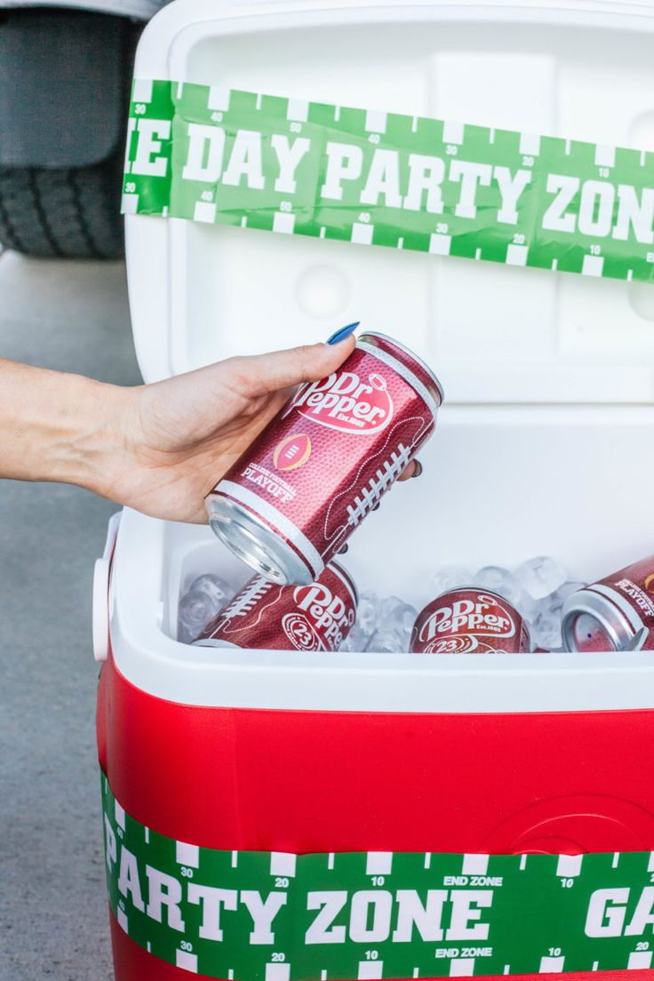 Tailgating tips with Dr Pepper #ad