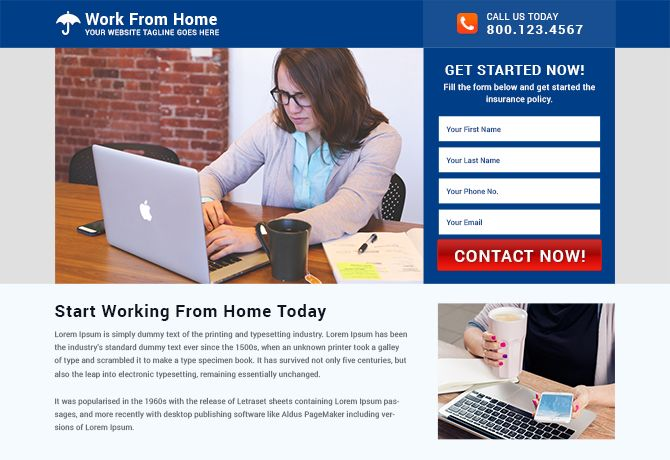 Free landing page templates psd and html files.