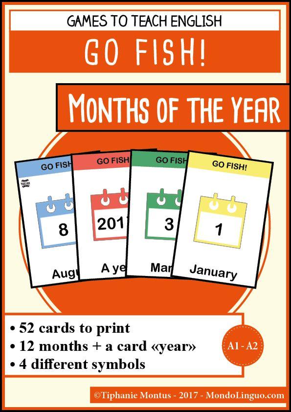 GF - Months of the year | Mondolinguo - Français
