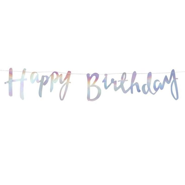 Use this stunning iridescent foiled Happy Birthday Backdrop at your next birthday The stunning iridescent foil shines bright and perfect for all ages
