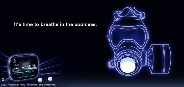 Breathe in the coolness with #Ultramintz.