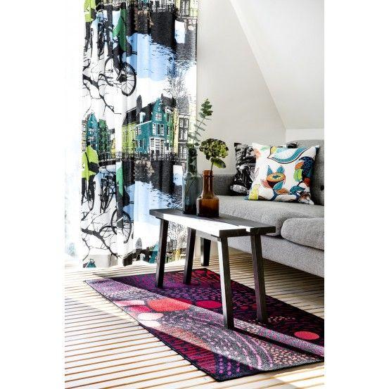 Amsterdam, Curtain, Vallila, Finnish design, February 2016