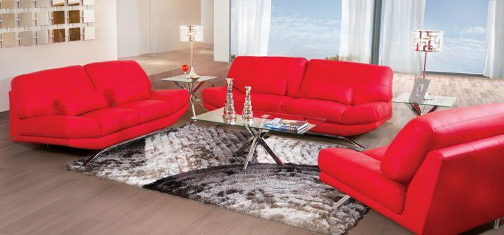 Salas En Colores Vivos Como El Rojo Las Encuentras En