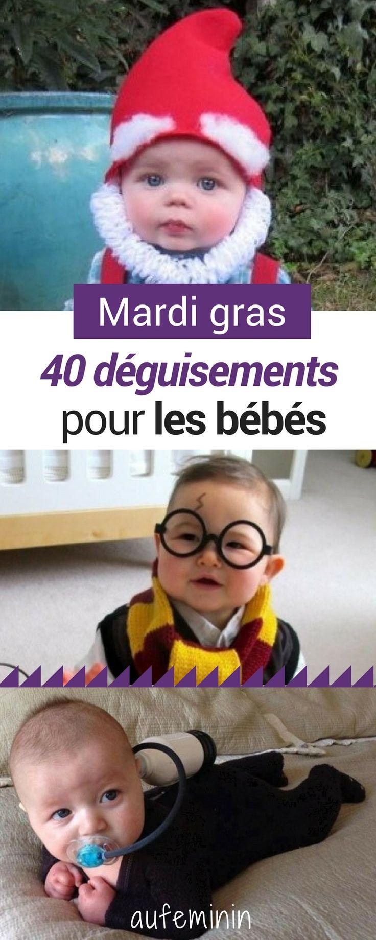 C'est mardi gras ! De Harry Potter au Mogwai, 40 déguisements totalement fous et originaux. #mardigras #déguisement #bébé #enfant #garçon #fille #original #micareme #halloween #drôle #aufeminin
