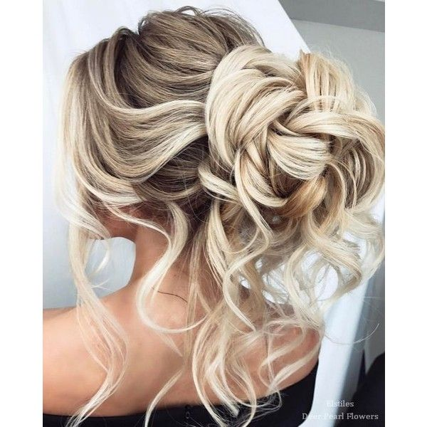 40 Best Wedding Hairstyles For Long Hair ❤ liked on Polyvore featuring hair