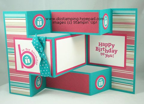 Oh, Found The Template And Pinned Earlier, But This Birthday Version Is So  Cool! | Cards I Love | Pinterest | Tri Fold, Template And Birthdays