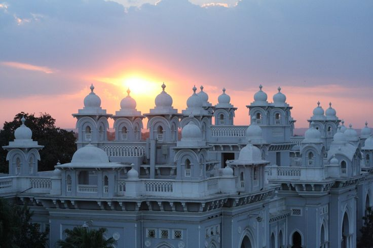Falaknuma Palace in Hyderabad, India