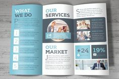 Trifold Brochure by FathurFateh on @creativemarket