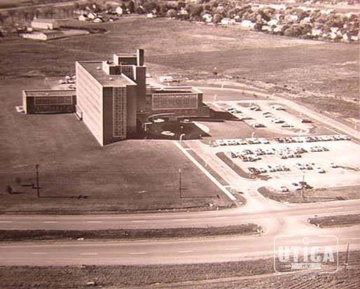 St Luke's Hospital 1950's | Utica, NY | Pinterest