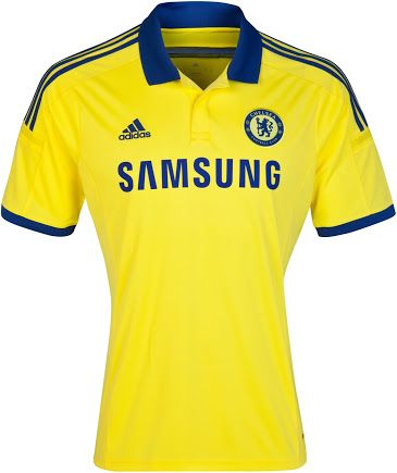 Chelsea 14-15 Home, Away and Third Kits Released - Footy Headlines