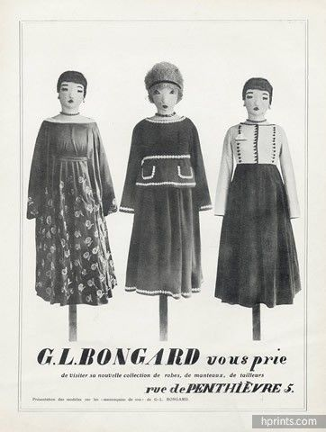 Germaine Bongard (Couture) 1916