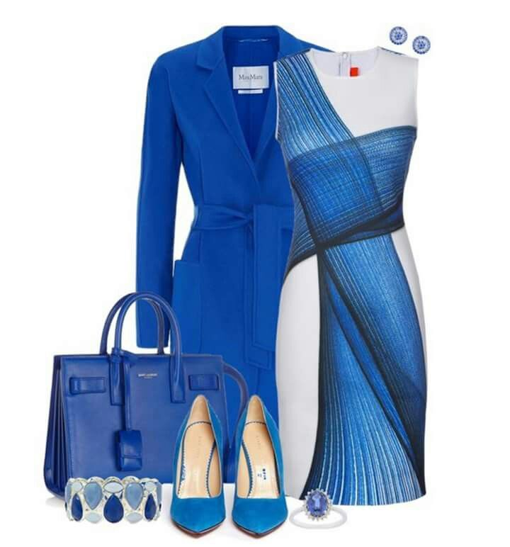 Blue Office Attire ▶suggested by ~Sophistic Flair~