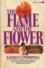 The Flame and the Flower by Kathleen Woodiwiss | One of the top selling romance novels of the 1970s and still a classic in the field.