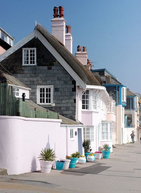"""Lyme Regis - 44 miles west of Wareham. The town features in both Jane Austen's """"Persuasion"""" and John Fowles' """"The French Lieutenant's Woman."""""""