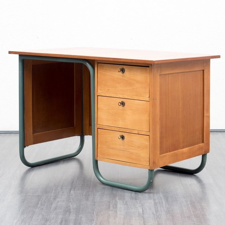 For sale through VNTG: Writing Desk from the fifties by Unknown Designer for Unknown Producer | #59527