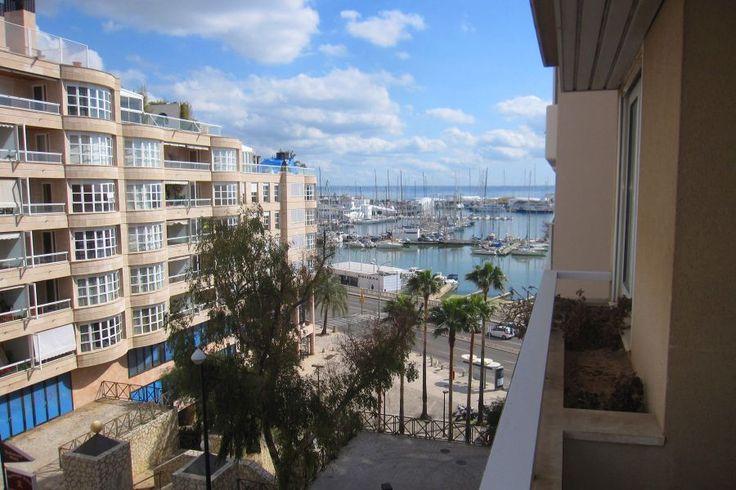 Paseo Marítimo, Palma de Mallorca: Trevlig lägenhet med bra läge i Palma