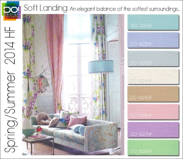 Spring Summer 2014 Color Trends for Home Fashion