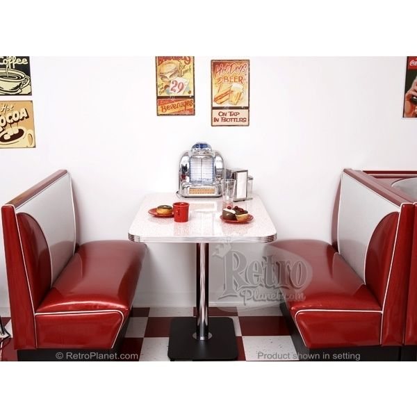 Diner Booth Set Elite Style