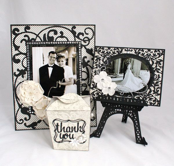 Cricut Fancy Frames And Sweet Tooth Boxes. Cricut Wedding ...
