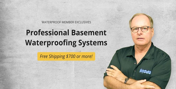 Basement waterproofing products for DIY homeowners and PRO foundation systems for contractors since 1965. We'll show you how to dry a wet basement (videos)