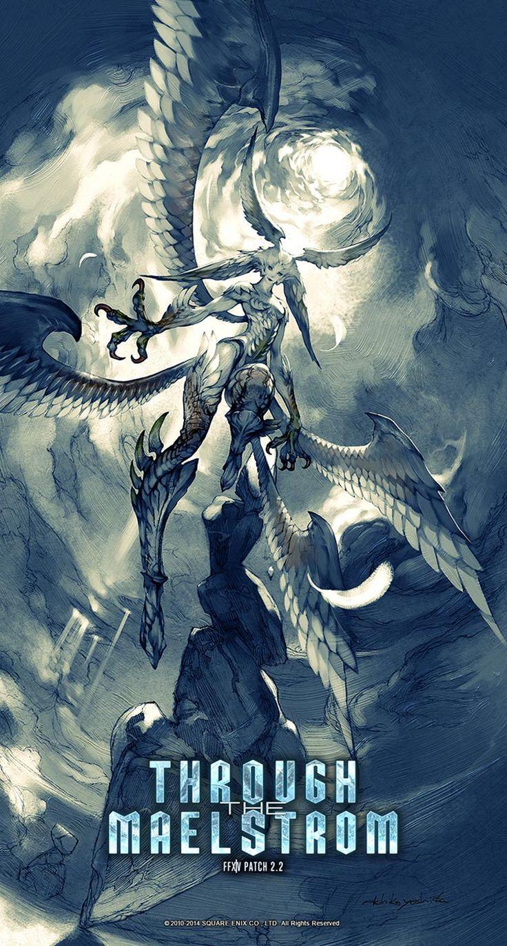 Garuda Descending   Final Fantasy XIV: A Realm Reborn