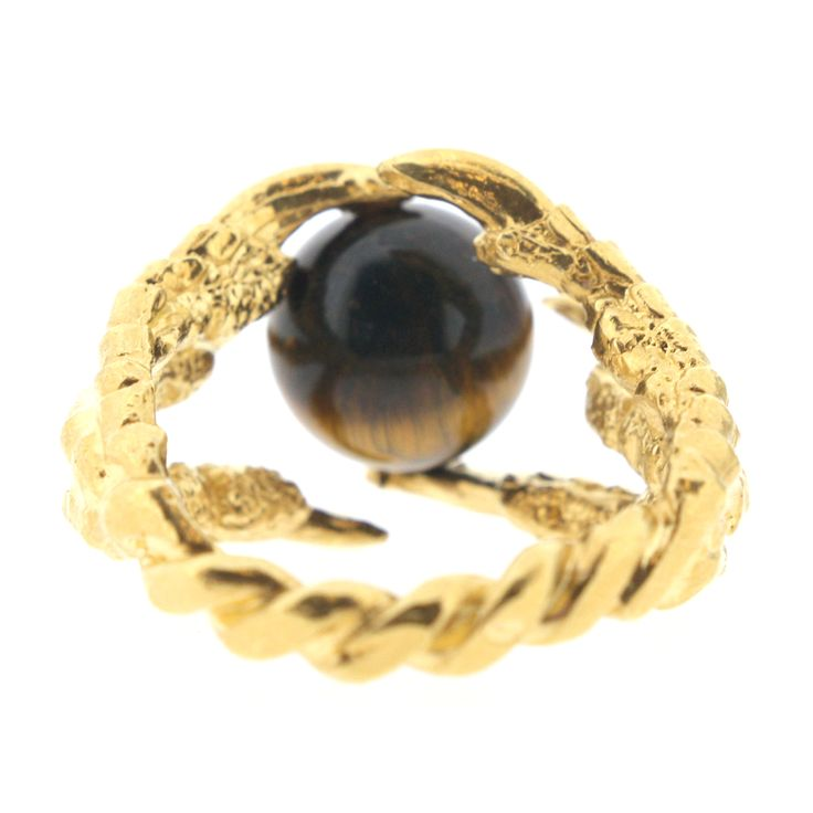 Pearl of London Tigers Eye Gold | Tessa Metcalfe | Wolf & Badger